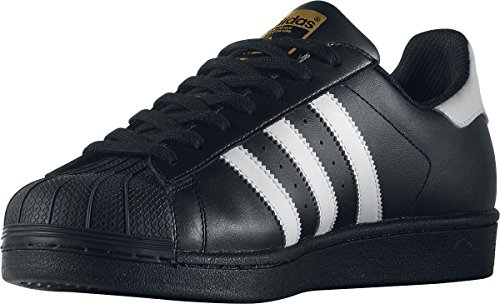 factory price 22902 16fb8 51bX4XwbT8L - Adidas Originals Superstar Foundation Scarpe da Ginnastica  Unisex - Adulto