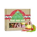 Essbarer Baumschmuck, einer Weihnachts-Box mit tollen Süßigkeiten, die Du an Deinen Christbaum hängen und anschließend vernaschen kannst, eine süße und lustige Geschenkidee zu Weihnachten