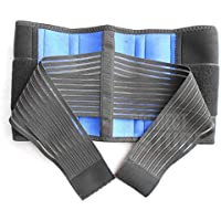 Acuario Doble Pull neopreno alivio del dolor lumbar apoyo y compresión inferior de la espalda cinturón Brace