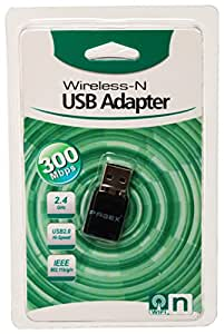 Pagex 300Mbps Wireless USB Adapter (Black)