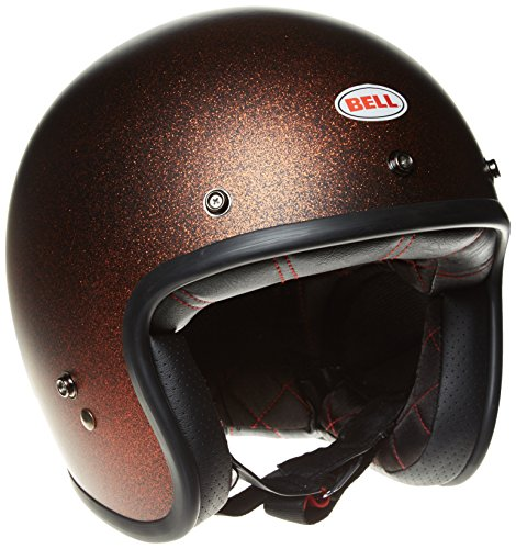 Bell Motorradhelme Street 2015 Custom 500 Adult Helm, Matte Orange Flake, Medium