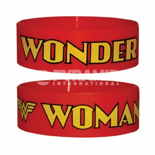 WONDER WOMAN LOG ARMBAND, ROT (Woman Wonder Armbänder)
