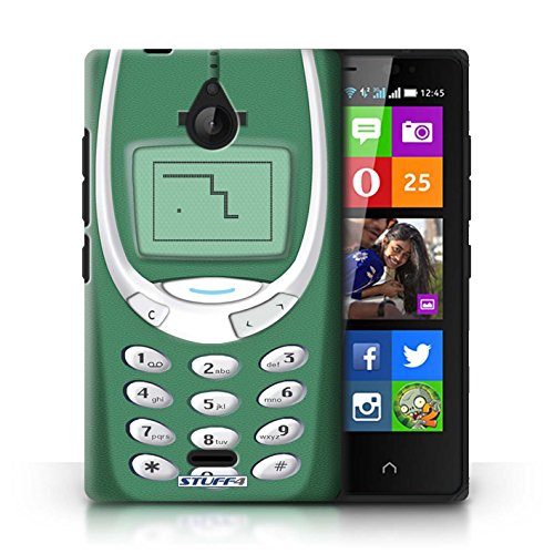 Kobalt® Imprimé Etui / Coque pour Nokia X2 Dual Sim / Nokia 8210 jaune conception / Série Portables rétro Nokia 3310 vert