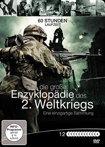 Preisvergleich Produktbild Die große Enzyklopädie des 2. Weltkriegs 12 DVD Box Edition