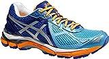 Asics Women GT-2000 3 2A-Weite (schmal) / T553N-4193 Damen Laufschuh Stabilität Blue/Flash Yellow/Deep Blue (US 6)