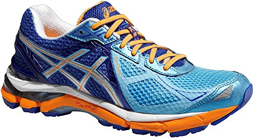 Asics Women GT-2000 3 2A-Weite (schmal) / T553N-4193 Damen Laufschuh Stabilität Blue/Flash Yellow/Deep Blue (US 6) (Damen Weite Laufschuhe)
