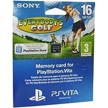 PS Vita - Tarjeta de Memoria de 16 GB + Everybody's Golf Voucher