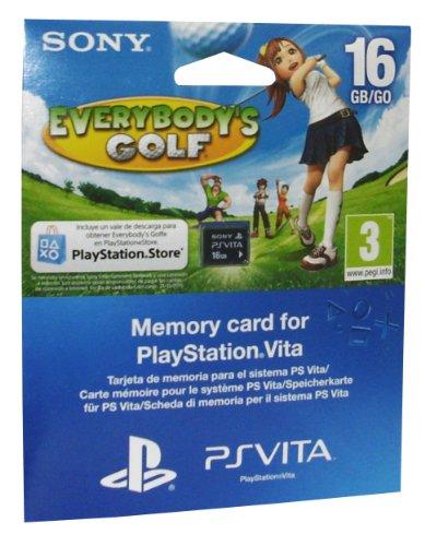 SONY - ACCESORIO SONY PSP VITA - MEMORY CARD 16GB + JUEGO PS VITA EVERYBODY`S GOLF