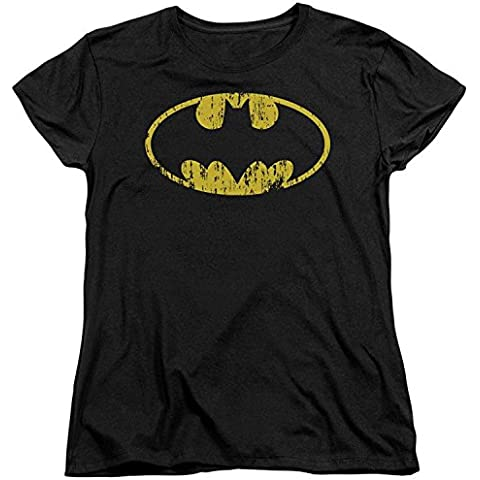 Batman Womans T-Shirt - Classic Logo