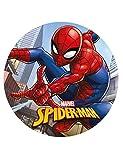 Generique Spiderman-Tortenoblate Lizenzprodukt bunt 20 cm