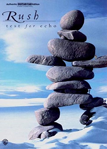 """Test for Echo: \""""Test for Echo\"""" - Authentic Guitar Tab Edition"""