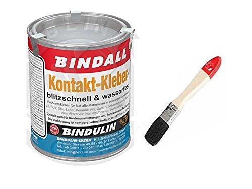 Kontaktkleber Vielzweckkleber 200 g Dose inkl. Pinsel zum Auftragen von E-Com24