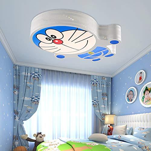 Kinderzimmer Schmiedeeisen Maschine Katzenform Deckenleuchte, LED Acryl Lampenschirm Moderne Kreative Cartoon Kronleuchter Junge Mädchen Schlafzimmer Studie Leuchte -