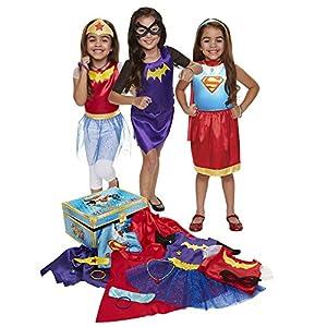DC Super Hero Girls Dress Up Trunk (21-Piece, One Size) from Jakks Pacific UK Ltd