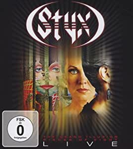 Styx - The Grand Illusion/Pieces of Eight Live [Blu-ray]