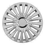 15 Zoll Radkappen ENZO (Silber) passend für Fast alle Fahrzeugtypen