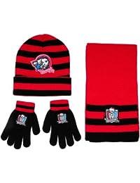 Ensemble Bonnet, gants et écharpe Monster High - T.U