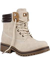 Warm Gefütterte Damen Outdoor Stiefeletten Worker Boots