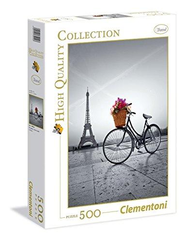 Clementoni - 350148 - Puzzle - Promenade romantique à Paris - 500 Pièces