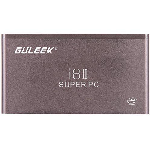 GULEEK i8II Smart MINI PC Windows 10 2 Go / 32 Go Intel Bay Trail Z3735F Quad Core 1,83 GHz ¨¤ 2,4 GHz / 5,0 GHz Bluetooth 4.0 1080P HDMI avec 3000mAh Batterie