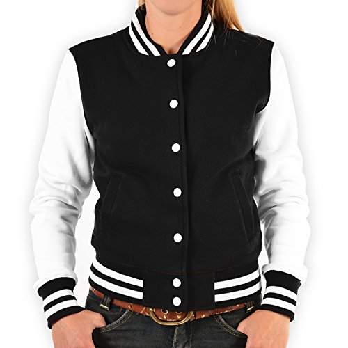 Damen College Jacke für Marilyn Monroe Fans – Tattoo Zombie - stylische Trainingsjacke modernes Design mit coolem (Birthday Kleid Marilyn Monroe Happy)