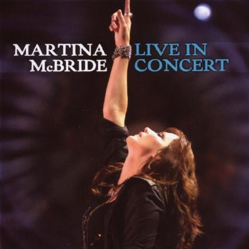 Live In Concert CD/DVD combo package by Martina McBride Live edition (2008) Audio CD