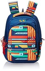 Wildcraft Wiki Daypack Polyester 34 liters Blue Laptop Bag (8903338048916)