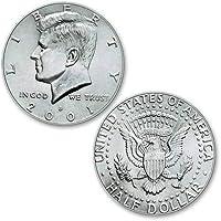 U.S. Half Dollar ungimmicked regular - singolo pezzo - Magia con Monete - Giochi di Prestigio e Magia