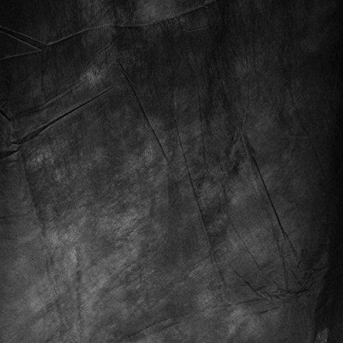 Walimex leichter Stoffhintergrund (3x6 m) schwarz