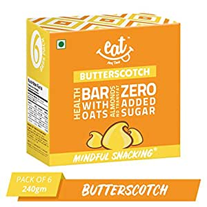 EAT Anytime Butterscotch Energy Bars - 240 g (40g X 6 Bars)