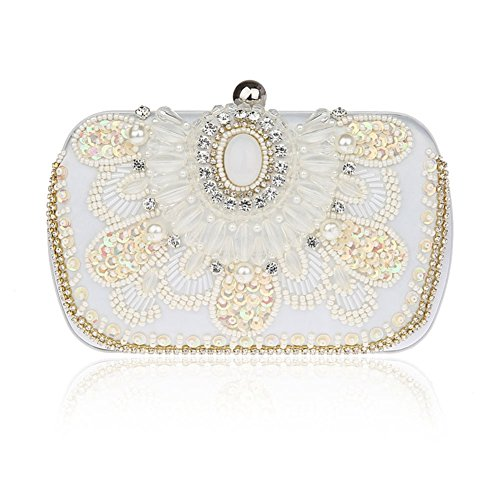 Dolce mini pochette/ strass Party Pack/ borsa da sera in rilievo/Borsa a mano-A A