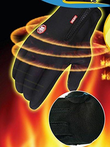 Warmpalm Gants plein doigt / Sports de plein air Gants / écran tactile gants chauds / hommes et de femmes d'hiver Gants / Gants Polaires Epaississants / antidérapants étanches Ski Équitation Gants / G # 2