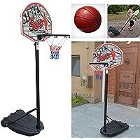 HYZH 105-200cm Portable Stable et hHauteur Réglable Panier De Basket pour Enfants ofD3rPJ