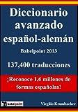 Diccionario avanzado español-aleman Babelpoint 2013