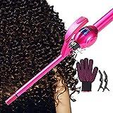 Hair Straightener Brush, Longko Ceramic Straightener Comb Adjustable 450℉/230℃ Temperature 30min Timer Auto