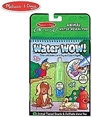 Melissa & Doug On the Go Water Wow Animal (Reusable Water-R