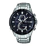 Casio HerrenChronograph Quarz mit Edelstahl Armbanduhr EQW A1400DB 1AER