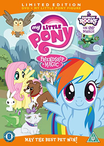 51bXMffXLwL My Little Pony: May The Best Pet Win!  Limited Edition [DVD] UK best buy Review