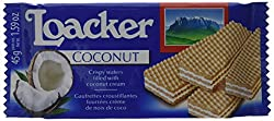 Loacker Coconut Wafers 45 G (Pack Of 25)