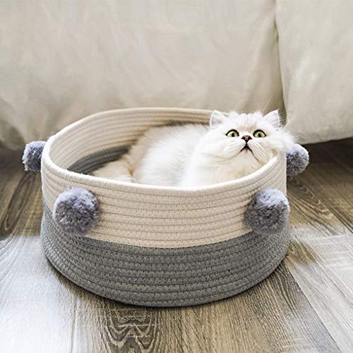 Centitenk Cama para Gatos de Color Gris