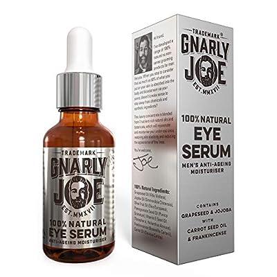 Gnarly Joe Mens Eye Serum. Anti-Ageing, Moisturising. Natural Ingredients, 30 ml