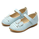 Internet_Flip flops Kids Sandals, Internet 2018 Summer Sandals Fashion Girls Rabbit Casual Single Leather Pricness Shoes For 0-6 Years Old (UK:5, Blue)