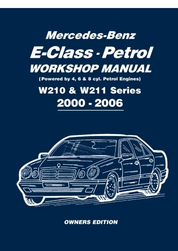 Mercedes-Benz E-Class Petrol Workshop Manual W210 & for sale  Delivered anywhere in UK
