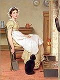 POSTERLOUNGE Forex 120 x 160 cm: Ihre erste Stelle de George Dunlop Leslie/Bridgeman Images