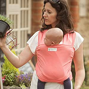 27e0291b9cc AmaWrap Stretchy Baby Wrap Sling   Carrier -Various Colours (L ...