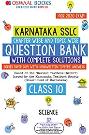 Oswaal Karnataka SSLC Question Bank Class 10 Science Book Chapterwise & Topicwise (For March 2020 E