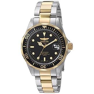 Invicta-8934-Pro-Diver-Unisex-Uhr-Edelstahl-Quarz-schwarzen-Zifferblat