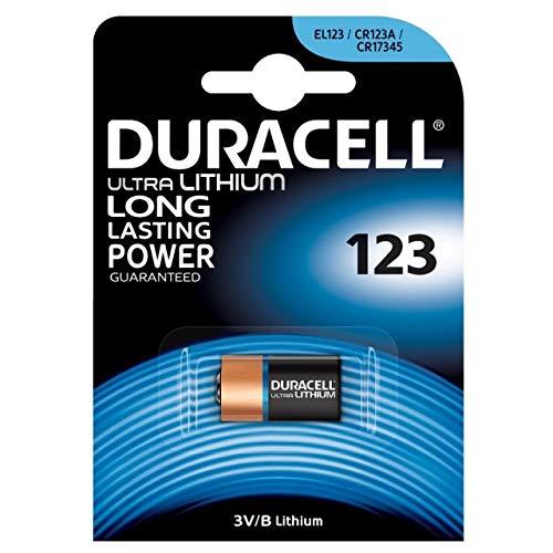 Duracell Ultra/Ultra Lithium  Batterie 123 (CR17345) 1er