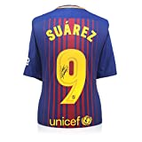 Exclusive Memorabilia - Camiseta de fútbol firmada por Luis Suarez Barcelona  2017-18 2cf1ed303bfee