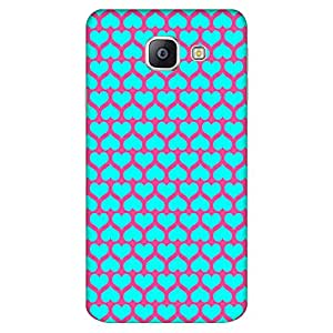 Mobo Monkey Designer Printed Back Case Cover for Samsung Galaxy A9 (2016) :: Samsung Galaxy A9 (2016) Duos (Heart :: Love :: Moroccan :: Artistic :: Texture & Pattern)